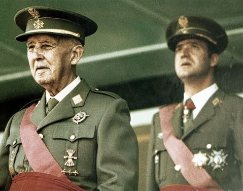 GENERAL FRANCO MILITARY PARADE