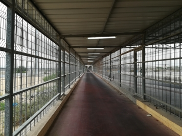 1km tunnel separating Gaza from Israel at Erez border crossing (North of Gaza).